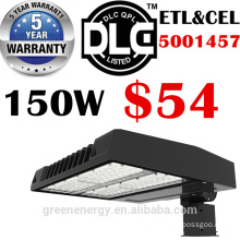 ETL UL DLC 5years warranty high lumen 130lm/w photo sensor led light street 100W 150W 200W 250W 300W
