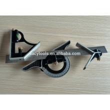 Conjunto de regla cuadrada combinada de 12 '' / 300mm