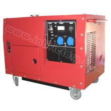 6kw Super Silent Kleiner tragbarer Benzingenerator mit CE / CIQ / ISO / Soncap