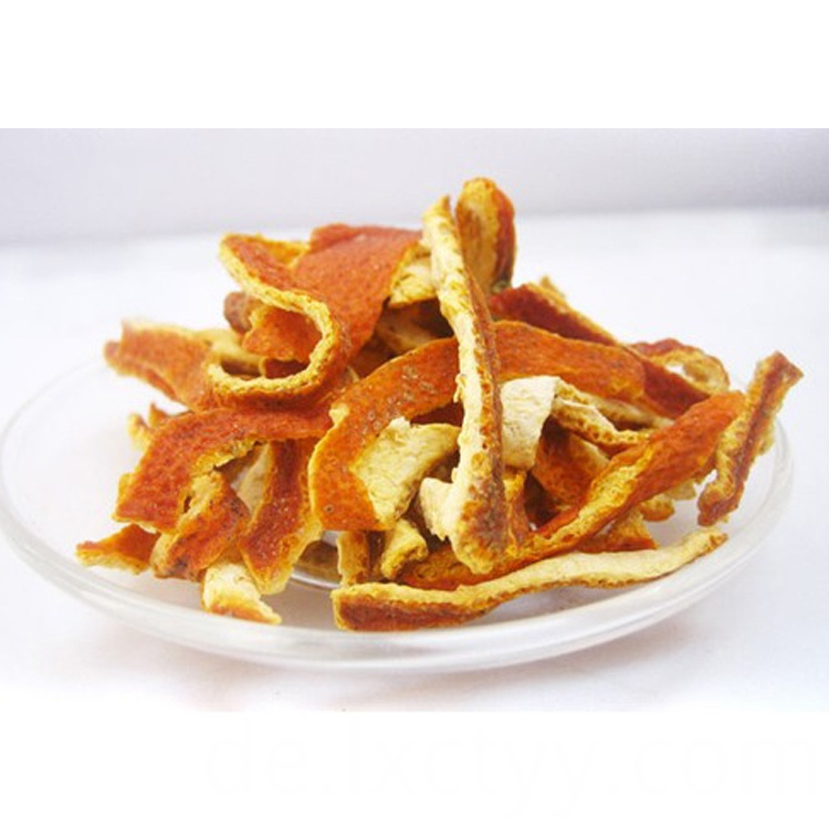 candied orange peel tea