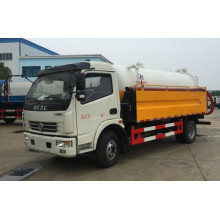 High Pressure Cleaning & Vacuum Sewage Suction Truck