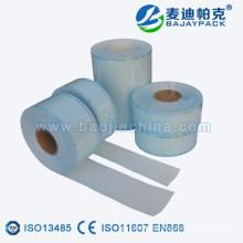 Rollo de plástico con sello térmico de película transparente
