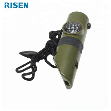 7 in 1  Multi-function Rescue Whistle