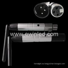 Controlador inalámbrico DMX 2.4G para luz LED RGB