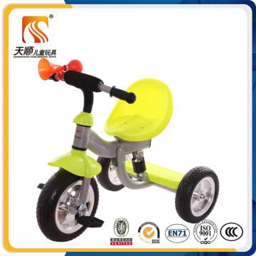 Tricycle à roues simple Iron Kids 3 avec corne