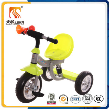 Three Colors Plastic and Iron Children Trike Wholesale