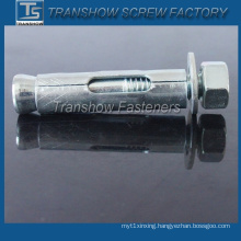 Zinc Palted Hex Nut with Washer Type Sleeve Anchor