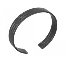 Bracelets ronds de fibre de carbone