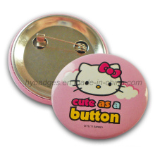 Kitty Cat Tin Badge, Printing Lovely Badge (GZHY-MKT-035)