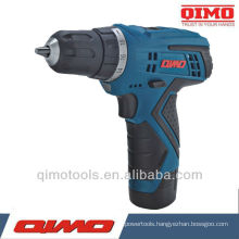 QIMO Professional Power Tools best sell 10.8V/12V Single/Double Speed Cordless Drill