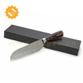 Thin japanese knife carbon steel damascus knife blank vg10 steel knives