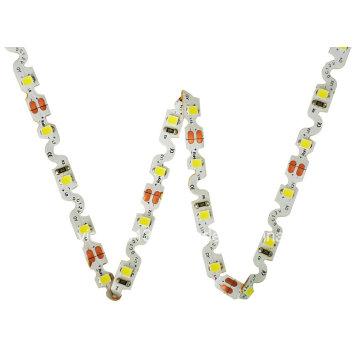 Novos LEDs de 22lm 12V DC 60 / M 11W / MS Forma 2835 SMD com fita LED flexível