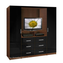 Functional Design TV Wardrobe Cabinet (HF-EY080318)
