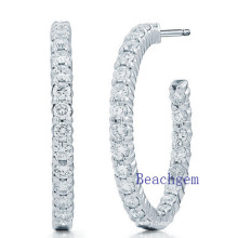 New Trendy 925 Sterling Silver Earrings Set 3A Cubic Zirconia
