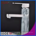 Fyeer Хромированный Лакированный Одной Ручкой Латунь Кран Ванной Бассейна Раковина Воды Смесителя Кран Wasserhahn