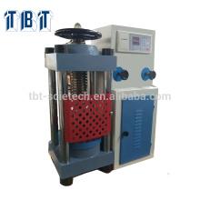 Máquina de teste hidráulica da força da compressão do almofariz do cimento concreto do cimento de T-BOTA TBTCTM-2000N 200Ton