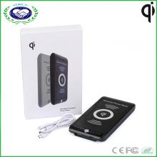 10000mAh Электрический тип и мобильный телефон Использование беспроводной зарядное устройство банка для iPhone и Samsung