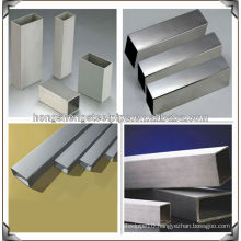 polished high quality welded stainless steel square pipe