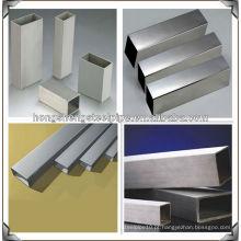 Polido de alta qualidade soldada tubo de aço inoxidável quadrado
