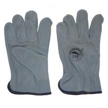 10 pulgadas de cuero de trabajo de seguridad conducir guantes para los conductores