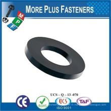 Fabriqué en Taiwan Rondelles en plastique en polyéthylène renforcé en nylon