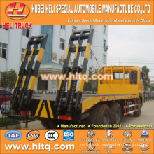 DONGFENG brand DFL 260hp 22tons 6X4 flat plate truck best selling for exported in Africa.