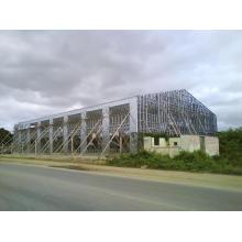 Werkmäßig hergestellte Werkstatt für leichte Stahlrahmen