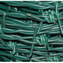 High Quality PVC Coated Barbed Wire for Sale