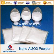 99,999% Nano-polvo de nanopartículas de alta pureza Nano Al2O3 Alúmina óxido de aluminio