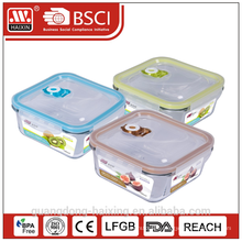 Vacuum Microwavable Glass Food Container 700ml