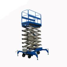 Moveable crane scissor lifting platform 1ton
