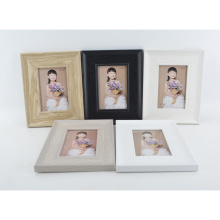MDF Paper Wrap Frame with Wooden Color