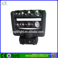 New product 8*10w RGBW 4in1 Quad Color LED butterfly moving head light