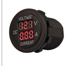 12V-24V Marine Car 6 Digital Number LED Display Voltmeter Voltage Meter