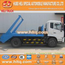Neues Modell 190hp DONGFENG 4x2 10cbm hydraulischer Heber Müllwagen schwingender Arm Müllwagen hochwertiger preiswerter Preis