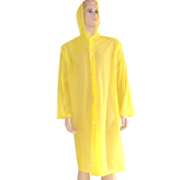 Lightweight pvc raincoat