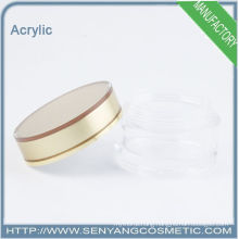 round acrylic packaging jar acrylic cosmetic jar factory