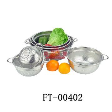 Высокое качество нержавеющей стали дуршлаг (FT-00402)