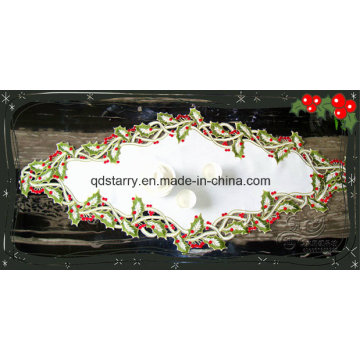 Embroidery Table Runner for Christmas St1765