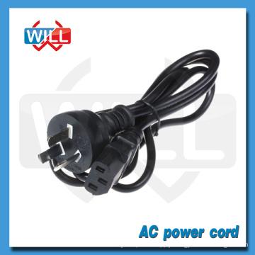 SAA Australian standard 6 feet power cord with plug