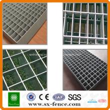 Сертификат ISO9001 горячего погружения оцинкованной стальной решеткой(сделано в Китае)