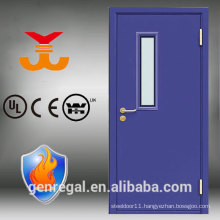 BS 476 exterior entry anti fire steel door