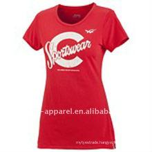 Custom high quality printed t-shirts women