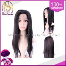 Artículos populares de la importación Peluca humana del frente del cordón Afro del pelo humano de Remy