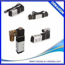 Válvula neumática del acondicionador de aire de la serie 4V 5 / 2way para el precio bajo