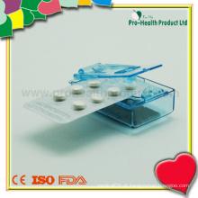 Popper de pílula de plástico médico promocional
