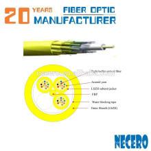 cabo de fibra óptica interior 36 fibras cabo de riser