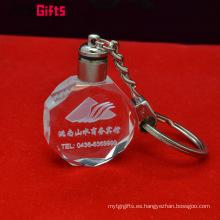 Llavero cristalino en blanco personalizado al por mayor de encargo del fabricante de Artigifts