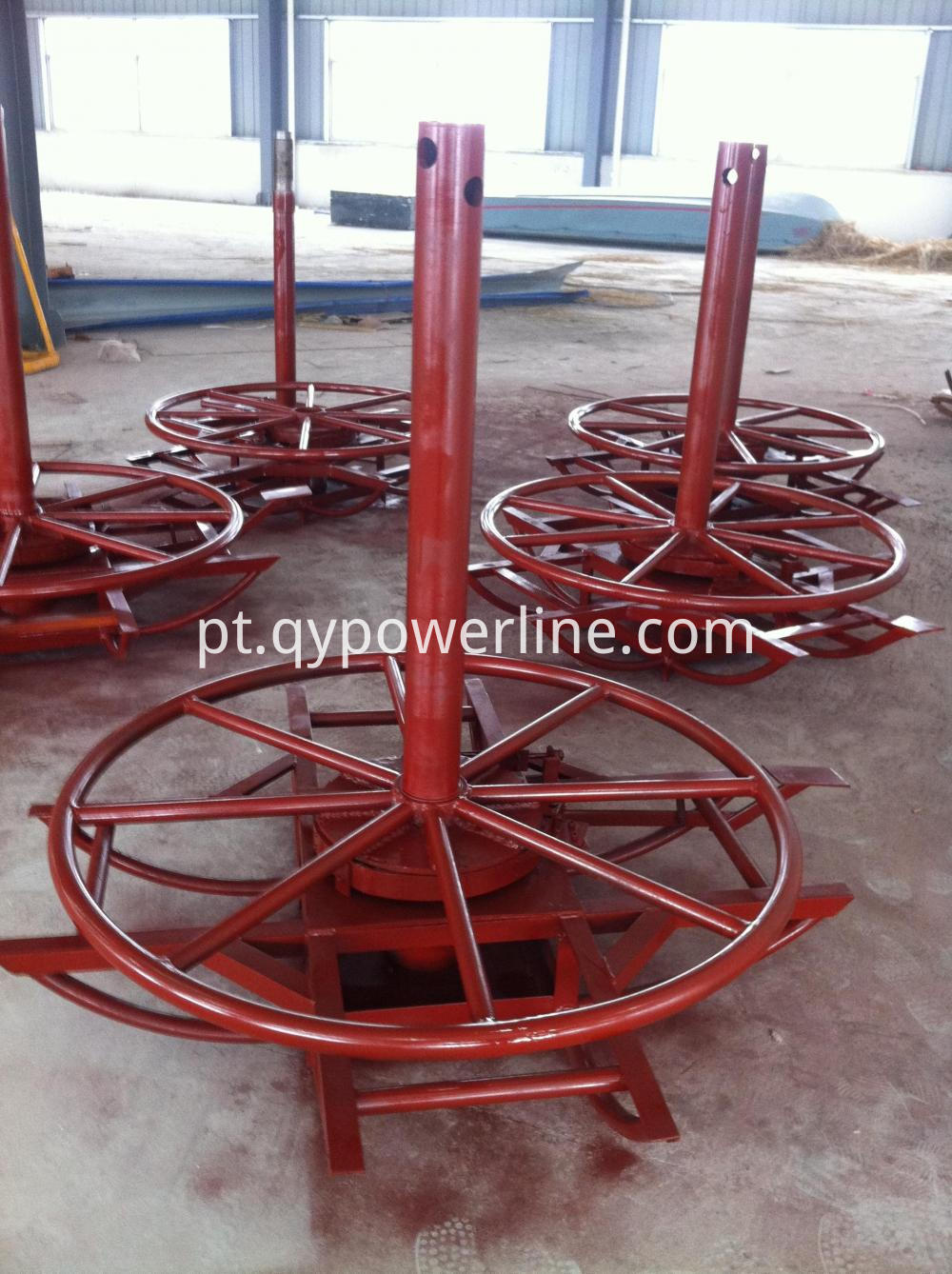 Horizontal Types Wire Pay Off Stand
