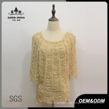 Damenmode Half Sleeve Sweater